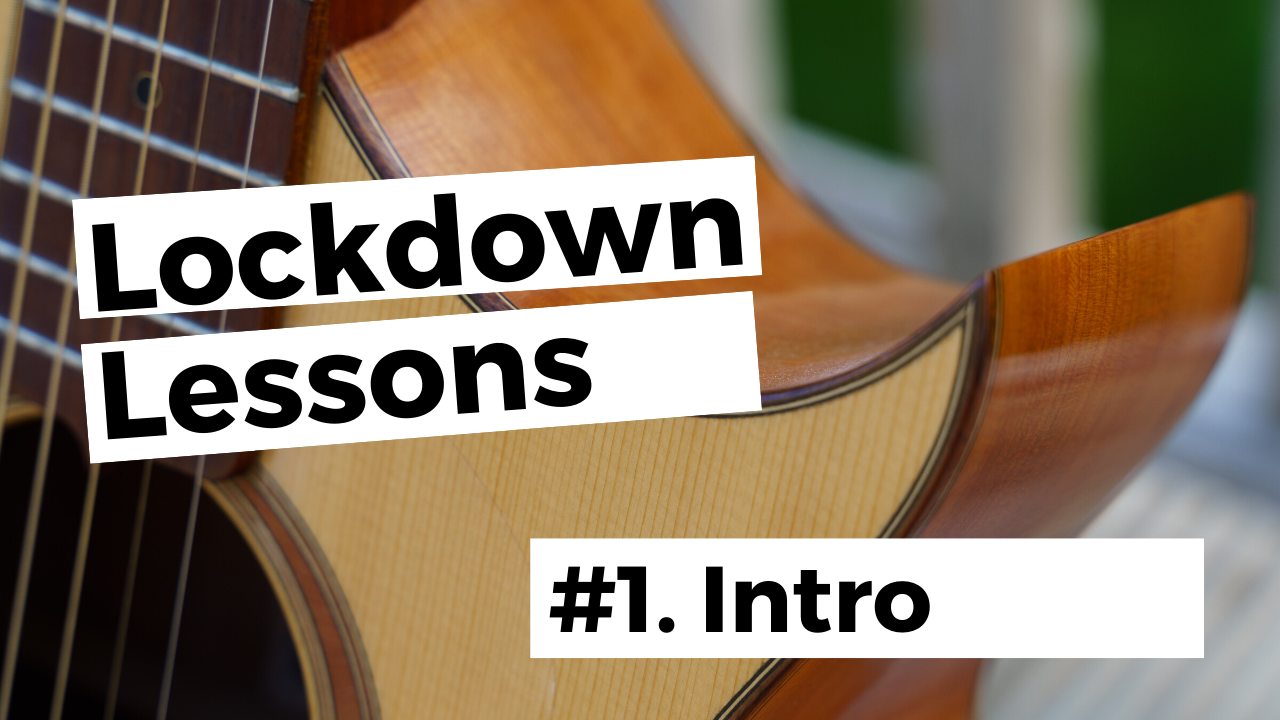 Free guitar lessons thumbnail - Intro
