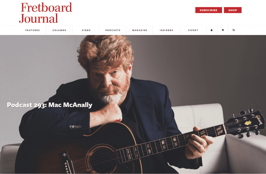 Mac McAnally Podcast Recommendation